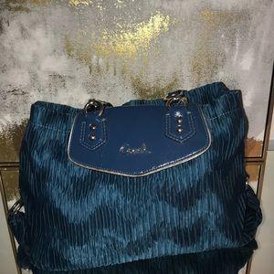 Authentic teal coach handbag
